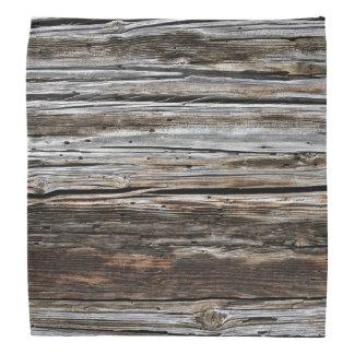 Old Weathered Wood Wall Texture Head Kerchiefs