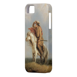 Old West 1845 Lost Greenhorn Cowboy iPhone 5 iPhone 5 Cover