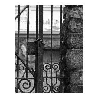 Old West End Edward D Libbey House's Gate Letterhead