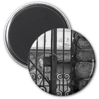 Old West End Edward D Libbey House's Gate Magnet