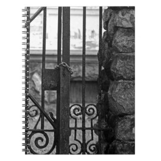 Old West End Edward D Libbey House's Gate Spiral Notebook