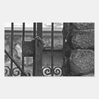 Old West End Edward D Libbey House's Gate Sticker