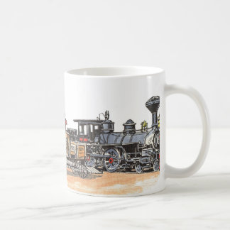Old West Railroad Depot Coffee Mug