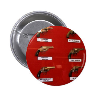 Old West Six-shooters 2 Inch Round Button