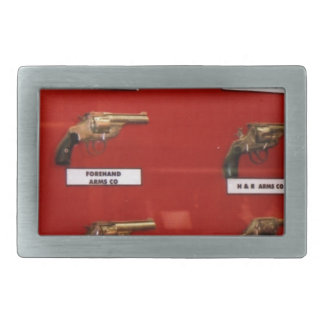Old West Six-shooters Belt Buckle