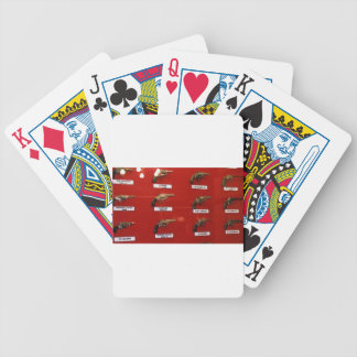 Old West Six-shooters Bicycle Playing Cards
