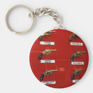 Old West Six-shooters Keychain