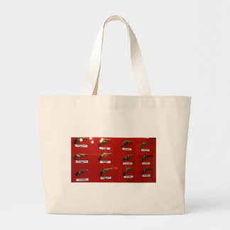 Old West Six-shooters Large Tote Bag