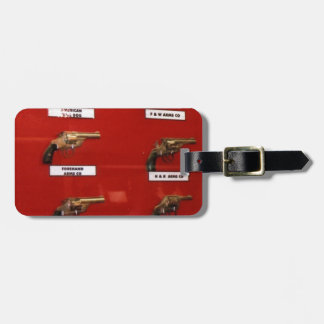 Old West Six-shooters Luggage Tag