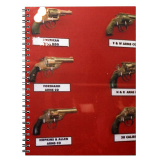 Old West Six-shooters Notebooks