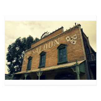 Old Western Saloon Bar Old Building Cards