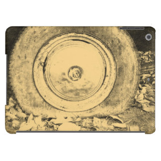 Old Wheel Of Classic Car Cover For iPad Air