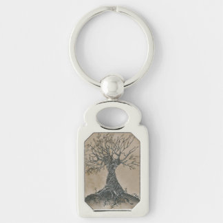 Old Whisper Tree Keychain
