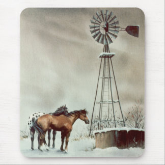 OLD WINDMILL by SHARON SHARPE Mouse Pad