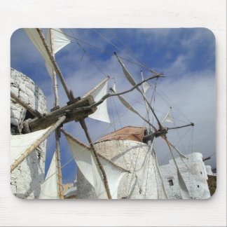 Old Windmills Olympos Karpathos, Greece Mouse Pad