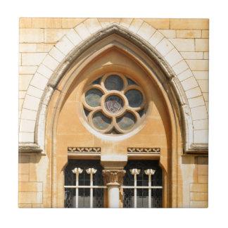 Old window in Oxford, UK Ceramic Tile