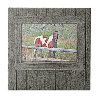 Old window pony 1 tile