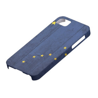 Old Wood Alaska Flag iPhone 5 Case