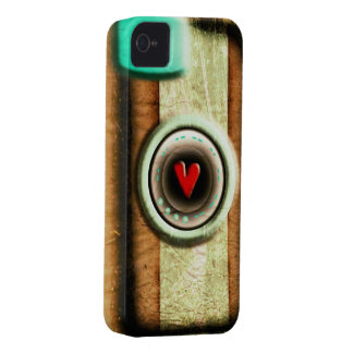 Old Wood effect Camera iPhone 4/ iPhone 4S Case