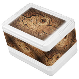 Old Wood Igloo 12 Can Cooler