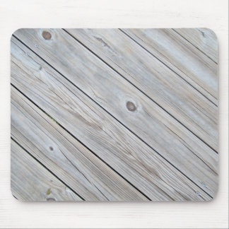 old wood planks mouse pad