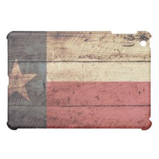 Old Wood Texas Flag iPad Mini Case