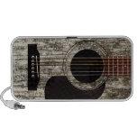 Old Wood Top Acoustic Guitar Speaker