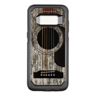 Old Wooden Acoustic Guitar OtterBox Commuter Samsung Galaxy S8 Case