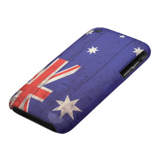 Old Wooden Australia Flag iPhone 3 Case