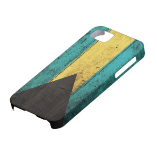 Old Wooden Bahamas Flag iPhone 5 Case