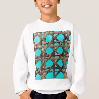 Old wooden basketwork sweatshirt