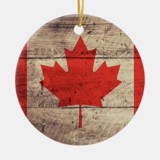 Canadian Christmas Ornaments $21.95. old wooden canadian