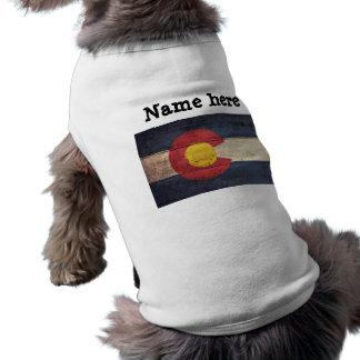 Old Wooden Colorado Flag Shirt