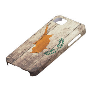 Old Wooden Cyprus Flag iPhone 5 Cases