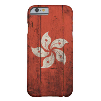 Old Wooden Hong Kong Flag Barely There iPhone 6 Case