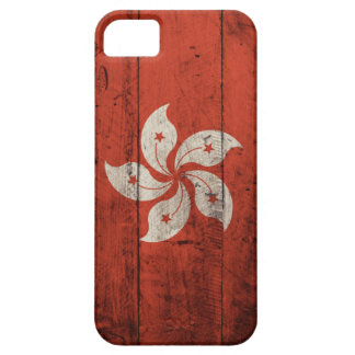Old Wooden Hong Kong Flag iPhone 5 Cover