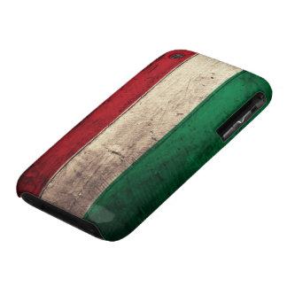 Old Wooden Hungary Flag iPhone 3 Case-Mate Case