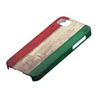 Old Wooden Hungary Flag iPhone 5 Covers