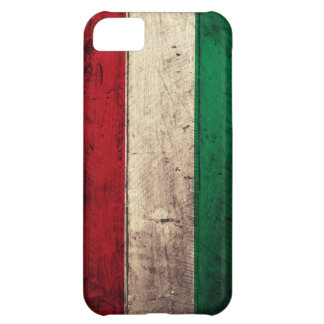 Old Wooden Hungary Flag iPhone 5C Cover