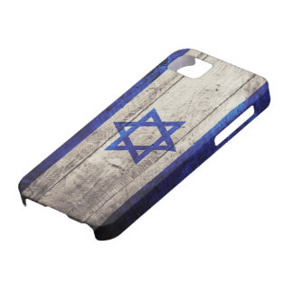Old Wooden Israel Flag iPhone 5 Covers