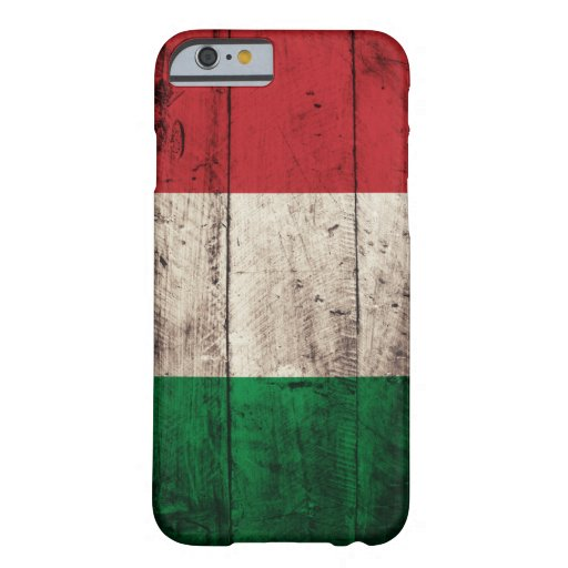 Old Wooden Italy Flag iPhone 6 Case