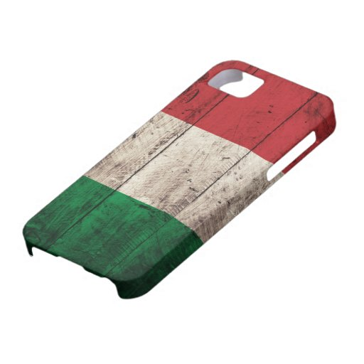 Old Wooden Italy Flag iPhone 5 Case