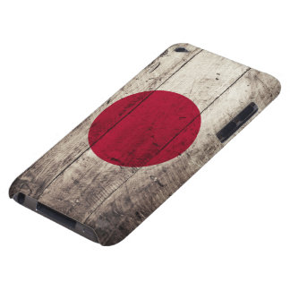 Old Wooden Japan Flag iPod Touch Case-Mate Case