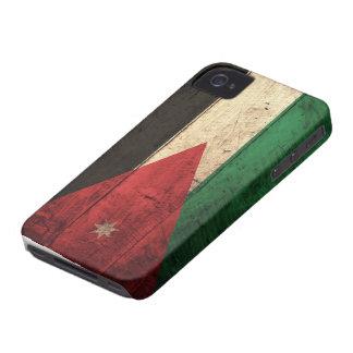 Old Wooden Jordan Flag iPhone 4 Case-Mate Case
