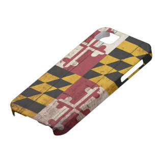 Old Wooden Maryland Flag iPhone 5 Cover
