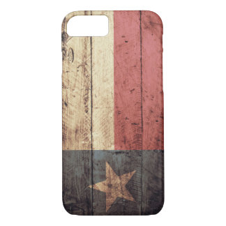 Old Wooden Texas Flag; Case-Mate iPhone Case