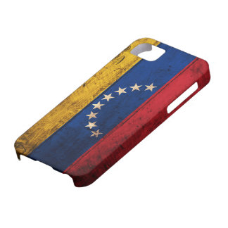 Old Wooden Venezuela Flag iPhone 5 Covers