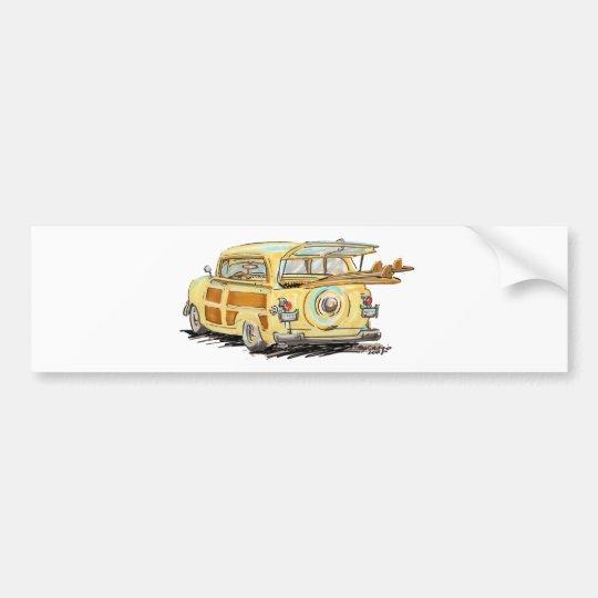 oLd wOOdY Bumper Sticker