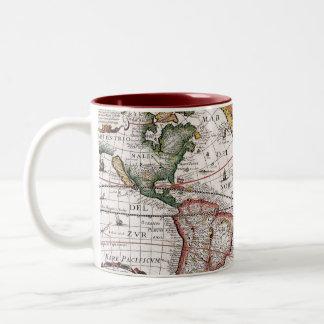 Old World Antique Map Mug