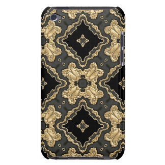 Old World Gold Lace Barely There iPod Covers